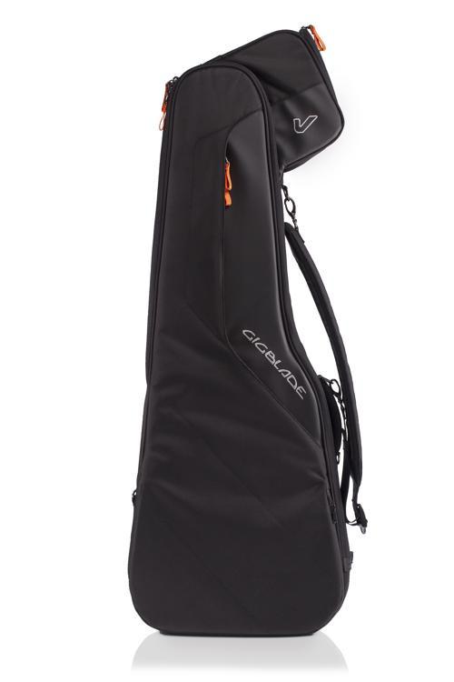 Gruv Gear GigBlade 2 Side-Carry Gig Bag, Electric Guitar - Black image 1
