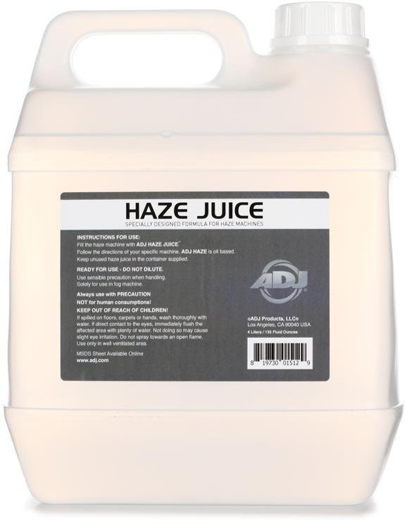 ADJ Haze/G Oil-Based Haze Fluid - 1 Gallon image 1