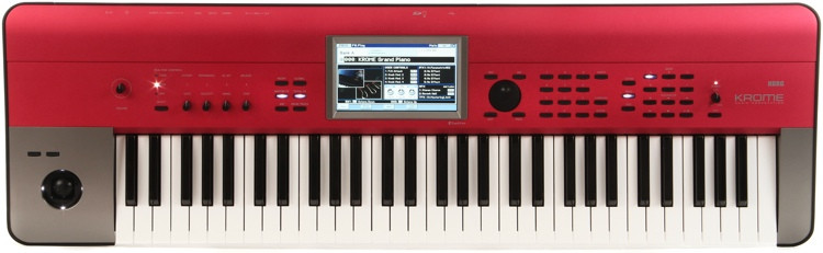 Krome 61-Key Synthesizer Workstation - Red Limited Edition