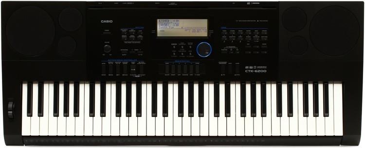 Casio CTK-6200 61-key Portable Arranger image 1