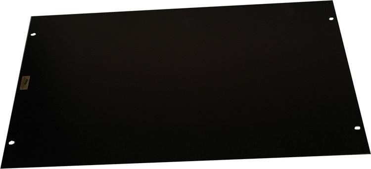 Middle Atlantic Products HBL6 Flat Aluminum Rack Panel - 6U image 1