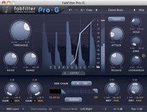 FabFilter Pro-G Plug-in