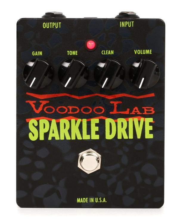 voodoo lab sparkle drive overdrive pedal sweetwater. Black Bedroom Furniture Sets. Home Design Ideas