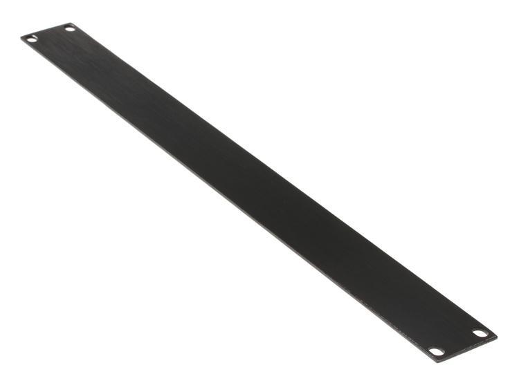 Gator GRW-PNLALFT1 Flat Aluminum Rack Panel - 1U image 1