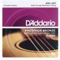 D'Addario EJ38H Phosphor Bronze High Strung Nashville Acoustic Strings