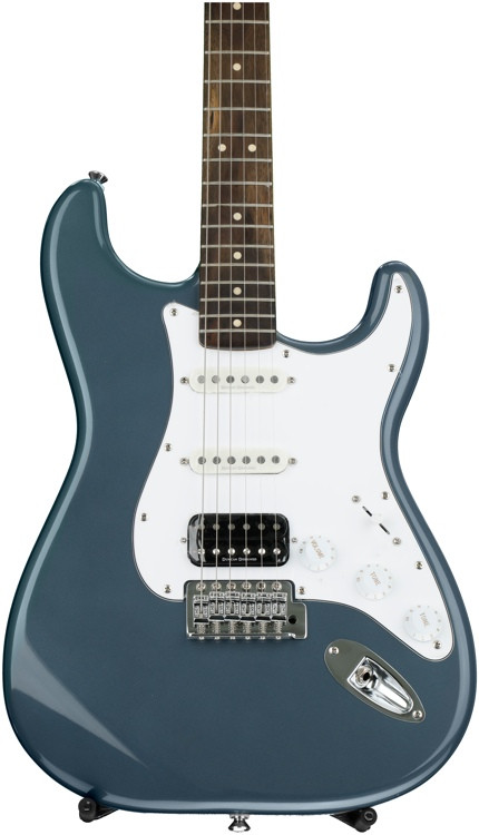 Squier Vintage Modified Stratocaster HSS - Charcoal Frost Metallic image 1
