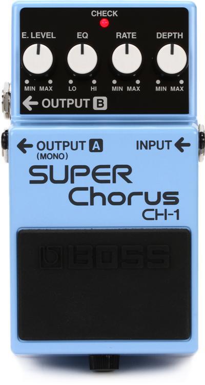 Boss CH-1 Stereo Super Chorus Pedal image 1