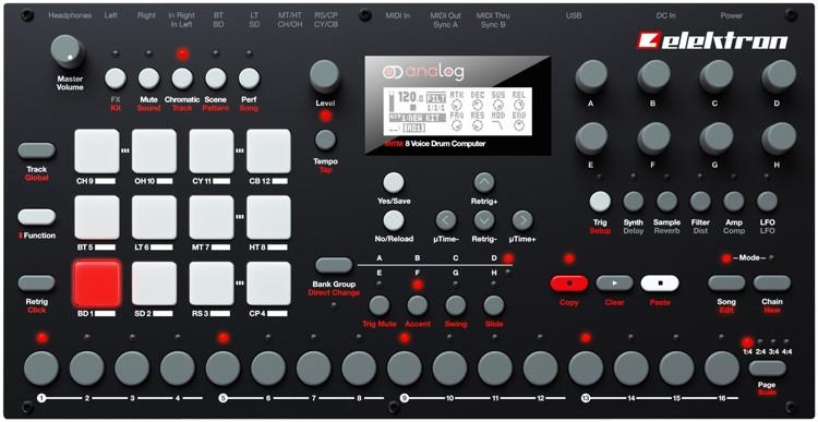 Elektron Analog Rytm 8-voice Drum Computer image 1
