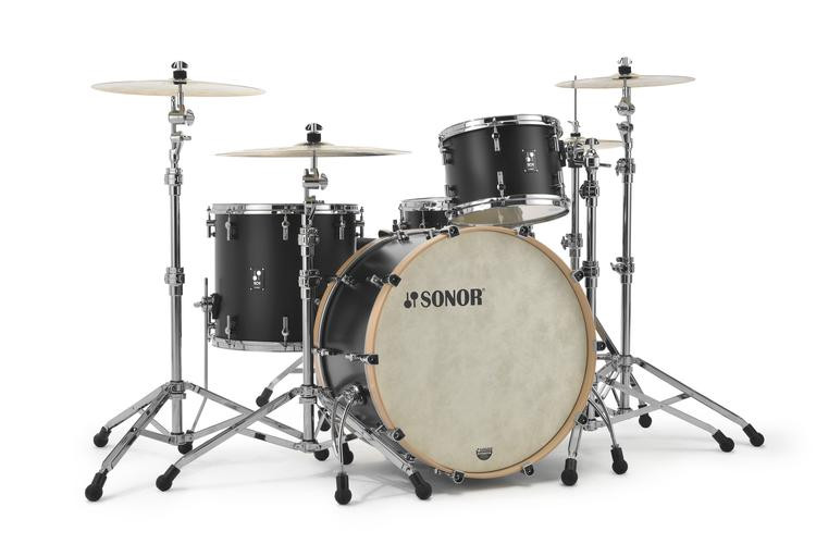 Sonor Sq1 24 Quot 3 Piece Shell Pack Gt Black Sweetwater