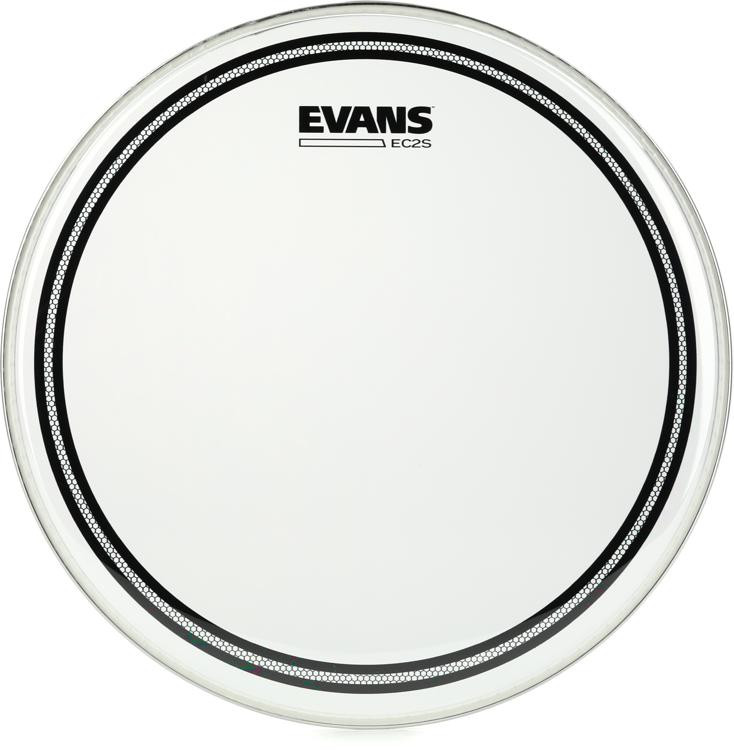 evans ec2 drumhead 13 clear sweetwater. Black Bedroom Furniture Sets. Home Design Ideas