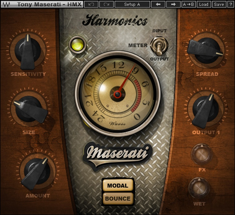 Waves Maserati HMX Harmonics Generator Plug-in image 1