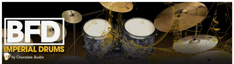 FXpansion BFD Imperial Drums Expansion Pack image 1