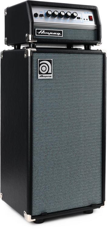 Ampeg SVT Micro VR Stack - SVT Micro Head and SVT-210AV Cabinet image 1