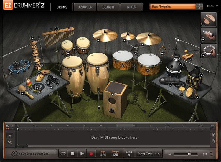 Toontrack Latin Percussion EZX (download) image 1