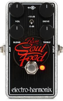 Electro-Harmonix Bass Soul Food Transparent Bass Overdrive Pedal image 1