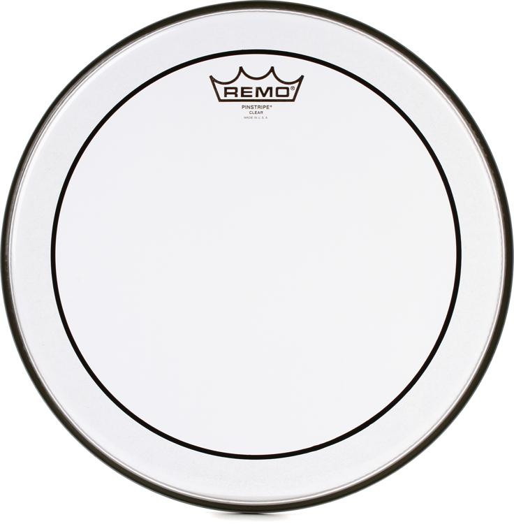 Remo Clear Pinstripe Drum Head - 13