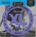 D'Addario EXP115 Coated Nickel Plated Steel Blues/Jazz Rock Electric Strings