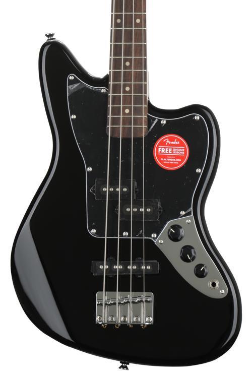 squier vintage modified jaguar bass special ss black. Black Bedroom Furniture Sets. Home Design Ideas