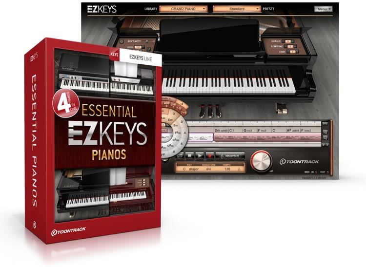 Toontrack EZkeys Essential Pianos Bundle image 1