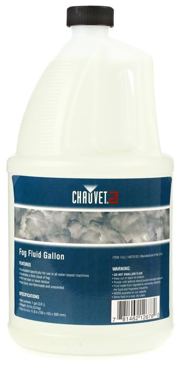 Chauvet DJ High Performance Water-based Fog Fluid - 1 Gallon image 1