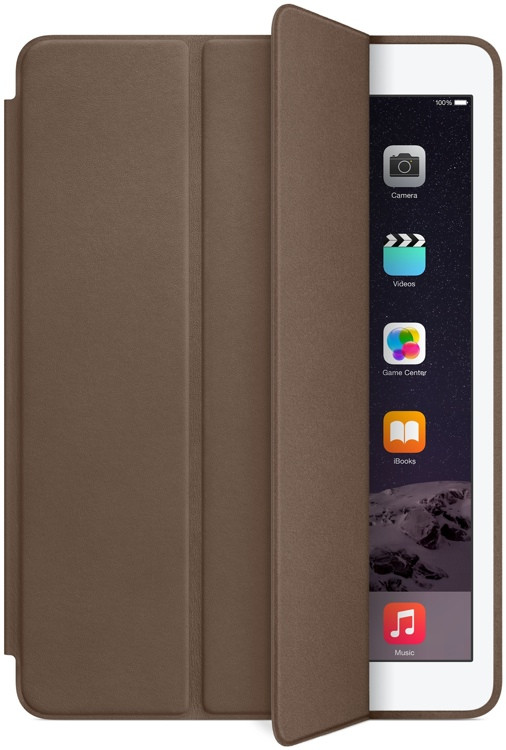 Apple iPad Air 2 Smart Case - Olive Brown image 1