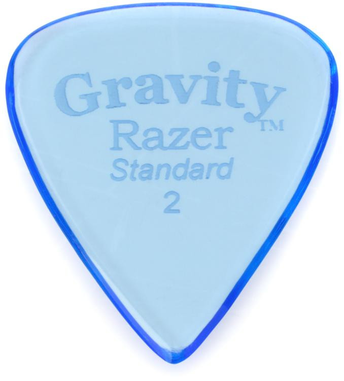Gravity Picks Razer - Standard Size, 2mm, Polished image 1