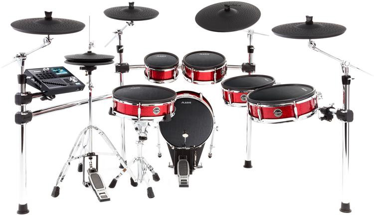 Alesis Strike Pro - 6-piece Electronic Drum Kit with Mesh Drumheads image 1
