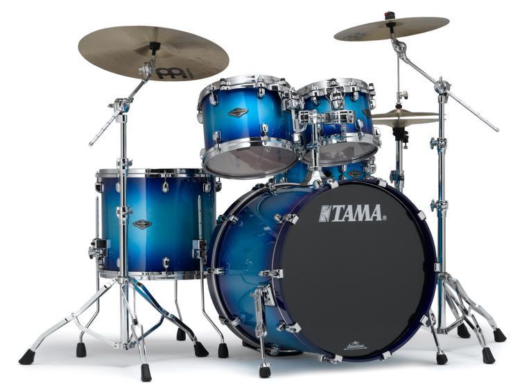 Tama Starclassic Performer B/B Shell Pack - 4-piece - Twilight Blue Burst image 1
