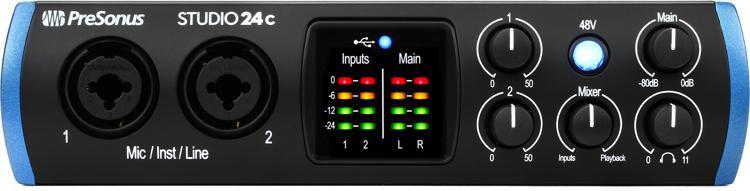 Studio 24c USB-C Audio Interface
