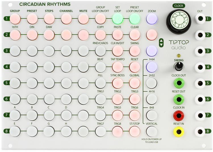 Tiptop Audio Circadian Rhythms Eurorack Sequencer Module image 1