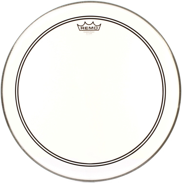 Remo Powerstroke 3 Clear Drumhead - 18