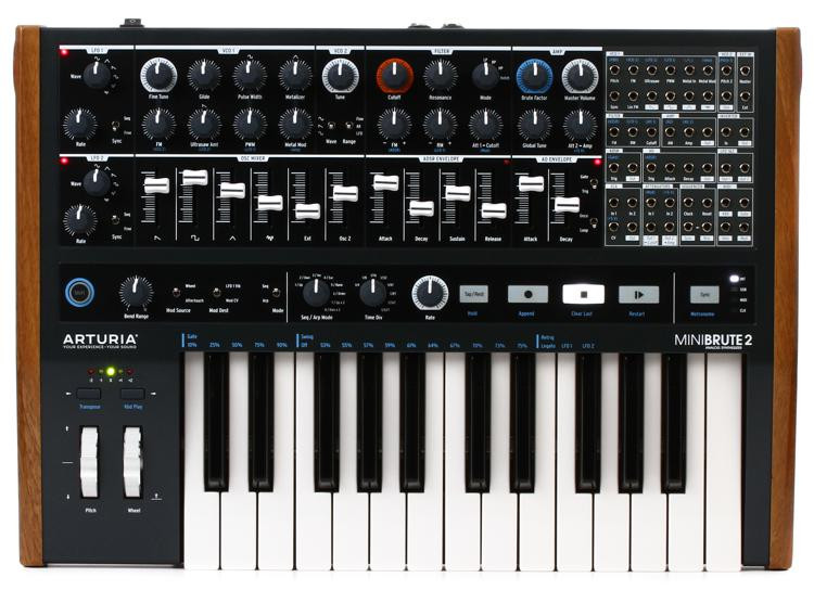 arturia minibrute 2 semi modular analog synthesizer sweetwater. Black Bedroom Furniture Sets. Home Design Ideas