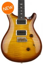 PRS Custom 24 10-Top - McCarty Tobacco Sunburst with Pattern Thin Neck