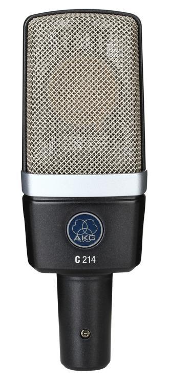 AKG C214 Large-diaphragm Condenser Microphone image 1