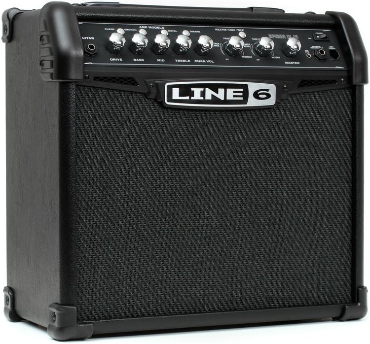 Line 6 Modeling Amp : line 6 spider iv 15 modeling 15w 1x8 guitar combo amp sweetwater ~ Russianpoet.info Haus und Dekorationen