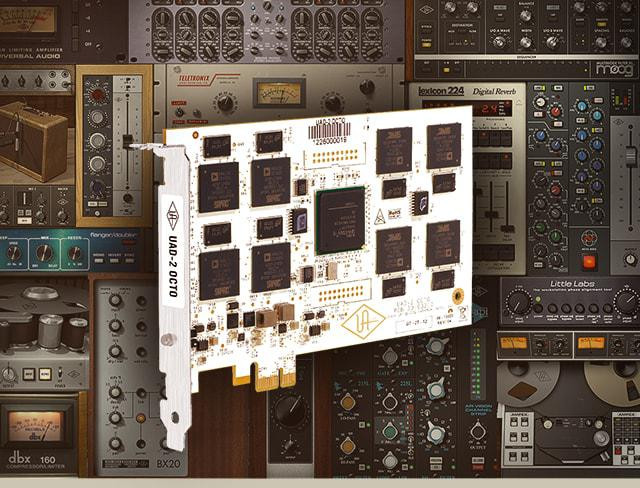 UAD-2 OCTO Ultimate 7 PCIe DSP Accelerator