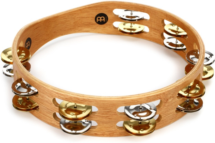 Meinl Percussion Recording-Combo Wood Tambourine - Double Row image 1