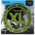 D'Addario EXL117 Nickel Wound Medium Top/Extra-Heavy Bottom Electric Strings
