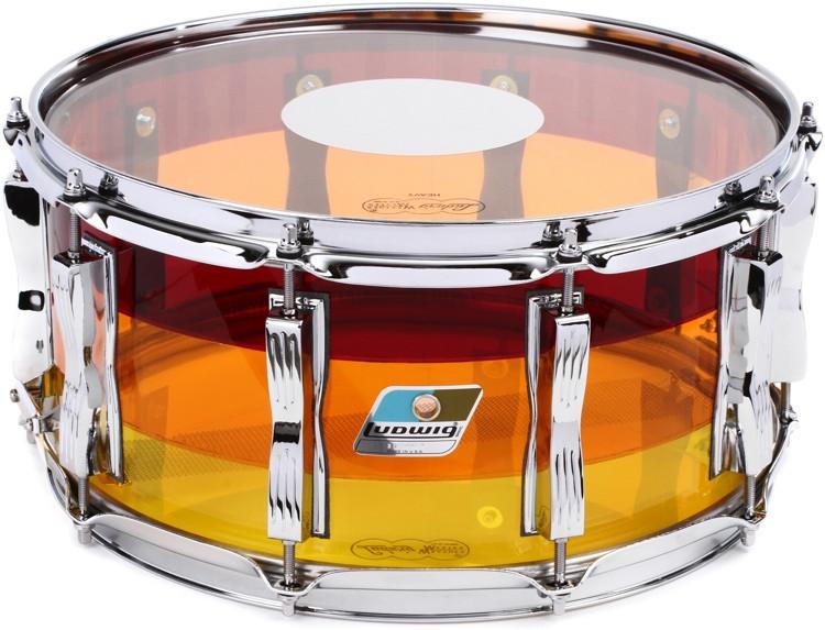 Ludwig Vistalite Series Snare Drum - 6.5
