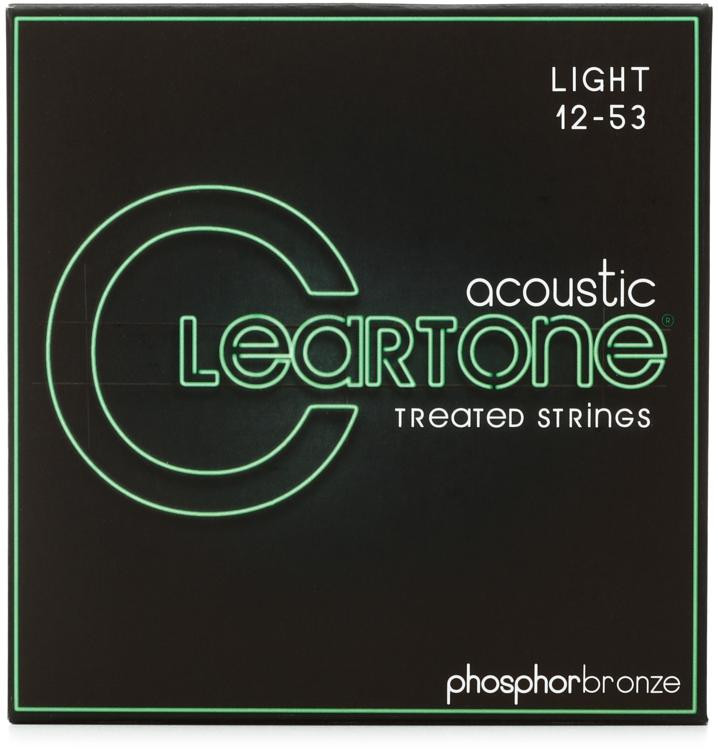 Cleartone 7412 EMP Phosphor Bronze Acoustic Guitar Strings - .012-.053 Light image 1