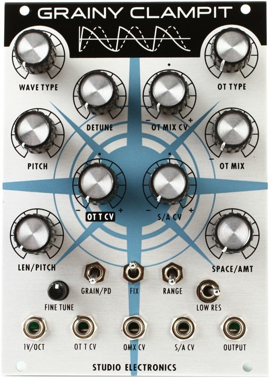 Studio Electronics Boomstar Grainy Clamp-It Eurorack Additive Oscillator image 1