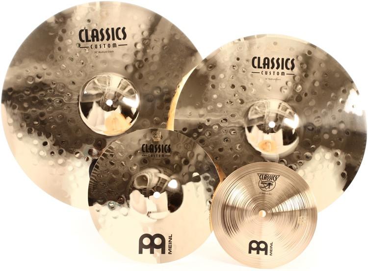 Meinl Cymbals Classics Custom Crash Pack image 1