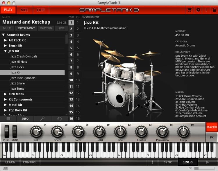 IK Multimedia SampleTank 3 - Upgrade from SampleTank 2 XL (download) image 1