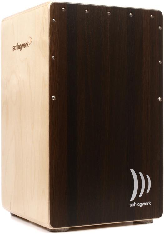 Schlagwerk 2inOne Cajon - Large - Dark Oak image 1