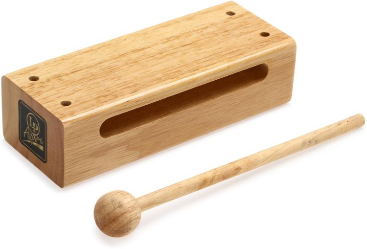 Latin Percussion Aspire Series Wood Block with Striker - Small image 1