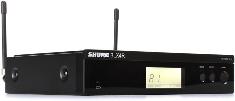 Shure BLX4R Rackmount Receiver - H9 Band image 1