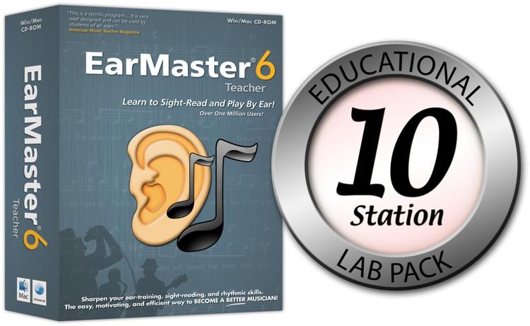 eMedia EarMaster 6 - 10 Station Lab  image 1