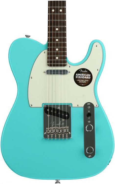 fender limited edition american standard telecaster seafoam green painted headcap sweetwater. Black Bedroom Furniture Sets. Home Design Ideas