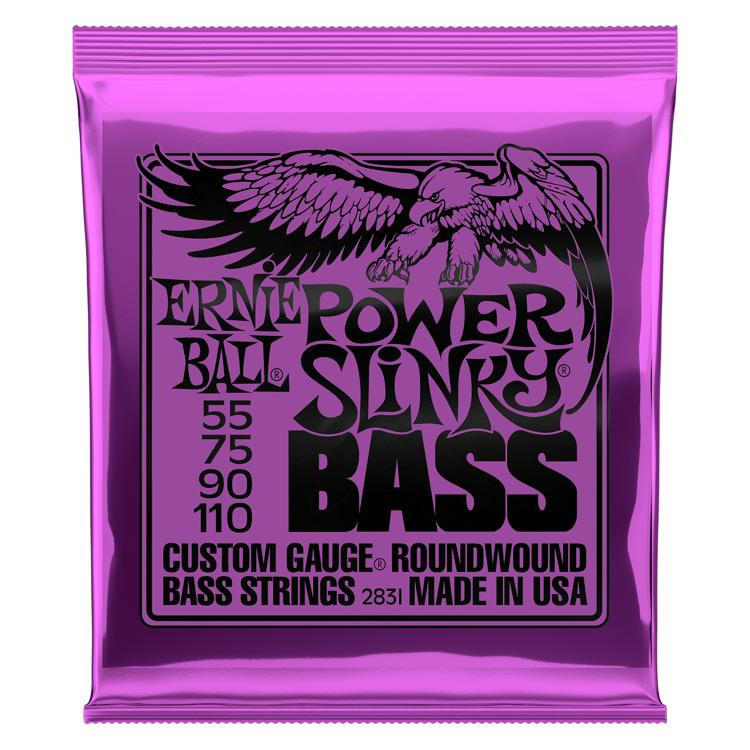 Ernie Ball 2831 Power Slinky Roundwound Bass Strings image 1