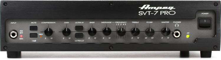 Ampeg SVT-7Pro 1000-Watt Tube Preamp Bass Head image 1